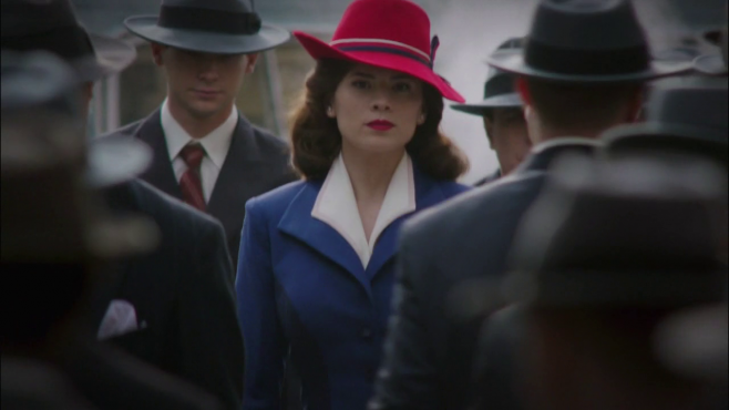 I want to be Peggy Carter when I grow up