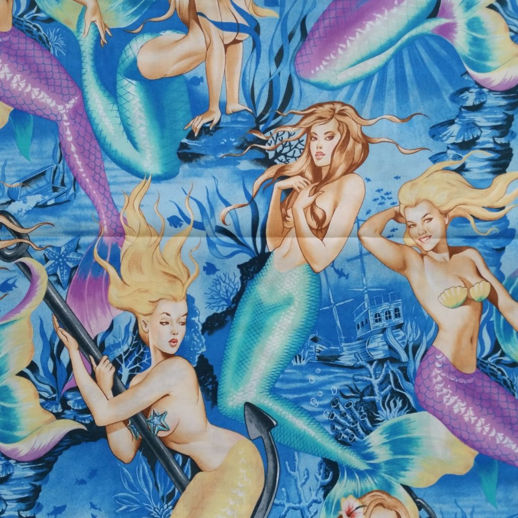 alexander henry sea sirens fabric