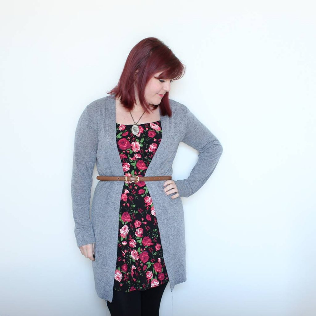 New Look 6096 & Helen's closet Blackwood cardigan