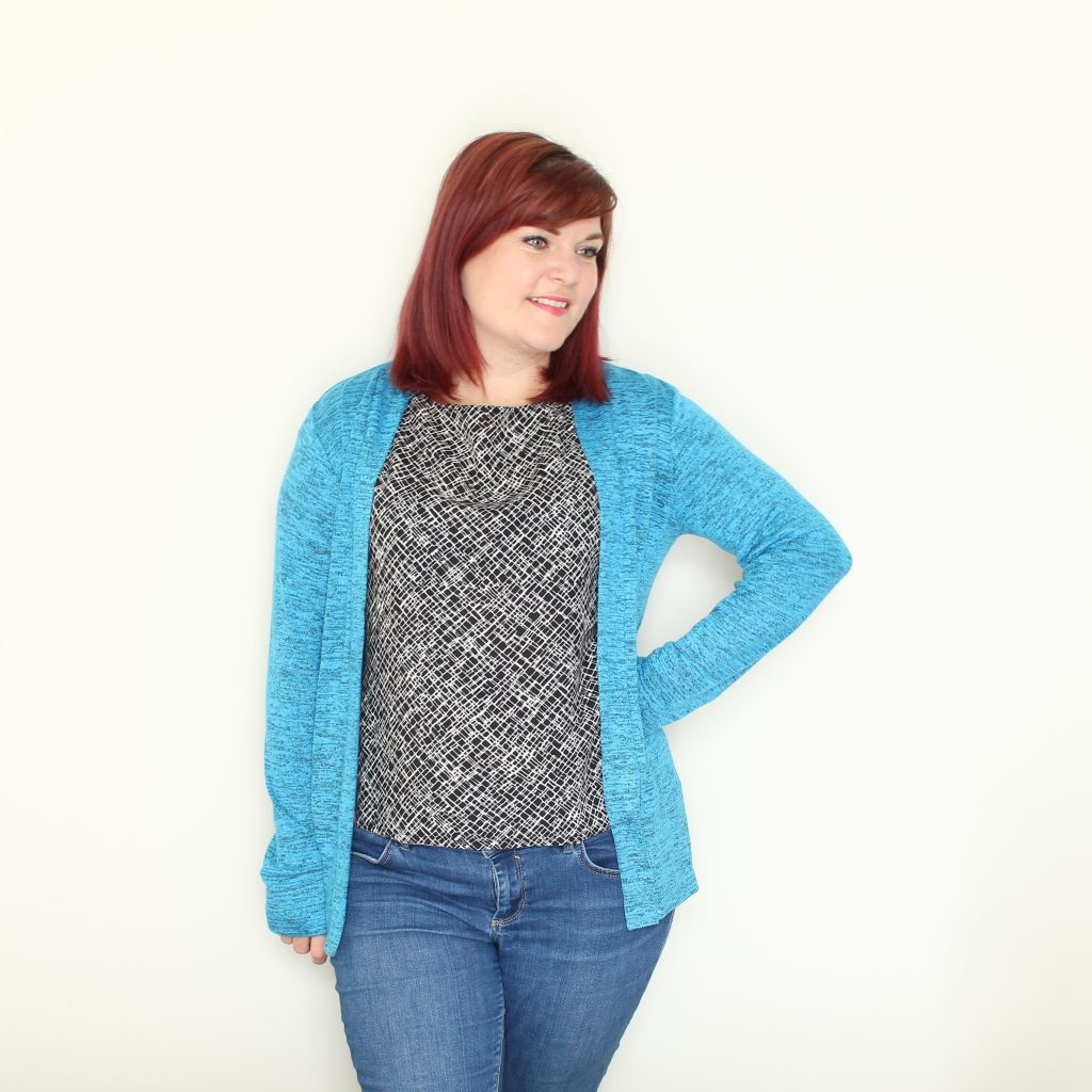New Look 6217 and Blackwood cardigan