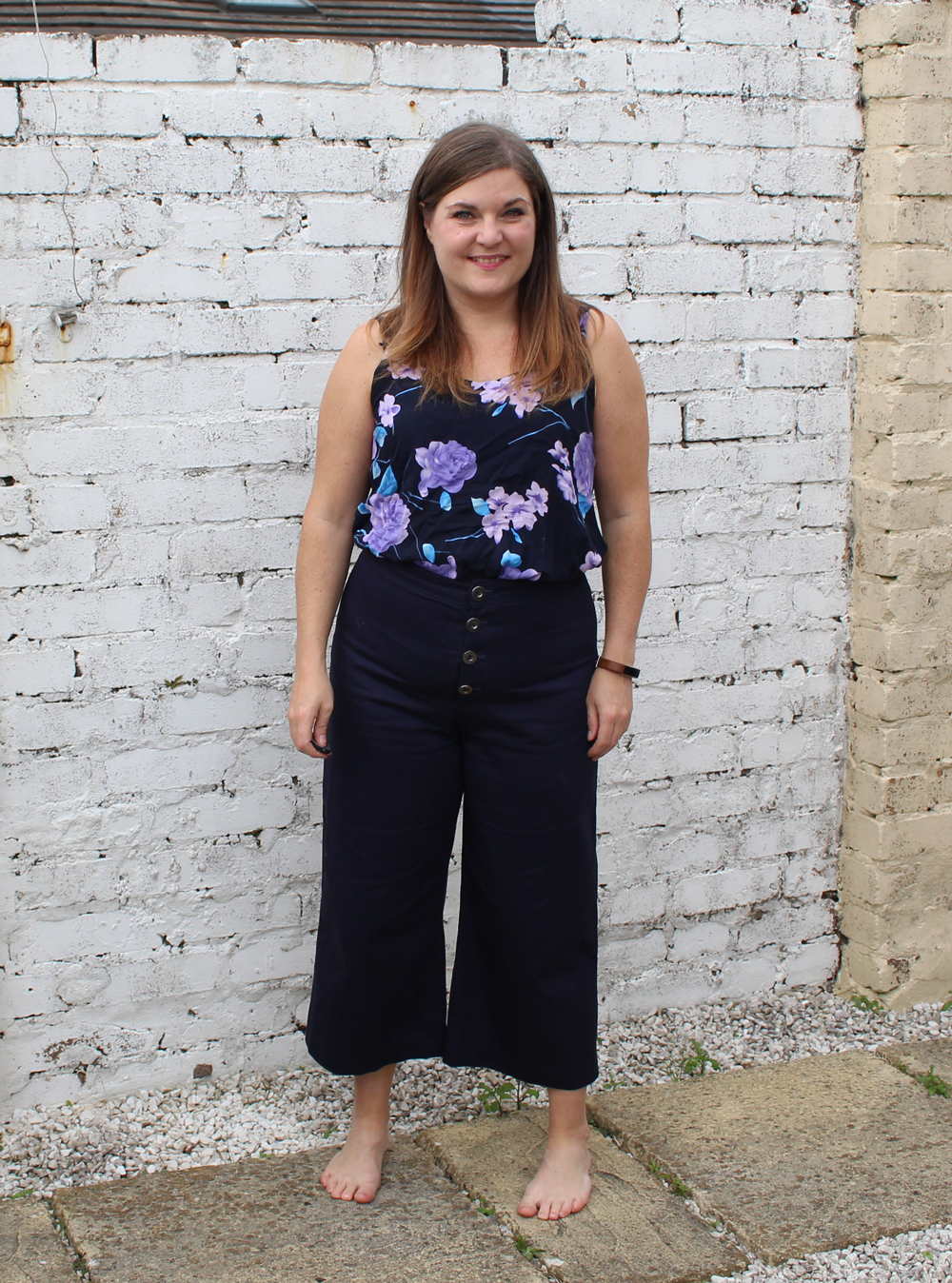 True Bias Lander pants and ogden cami